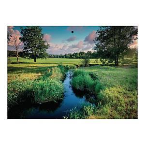 Kalendarz trójdzielny CRUX, wypukły, Potok