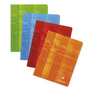 Clairefontaine notebook stapled with margin ruled 16,5x21 cm 72 pages