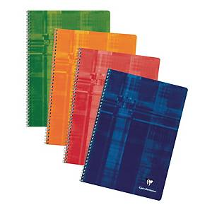 Clairefontaine wired notebook squared 5x5 21x29,7 cm 100 pages