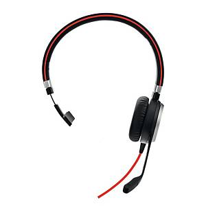 Headset Jabra Evolve 40 MS Mono, med kabel