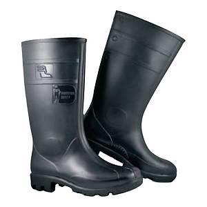 Kalosze FAGUM-STOMIL 13150 PVC S5 SRC, czarne, rozmiar 42