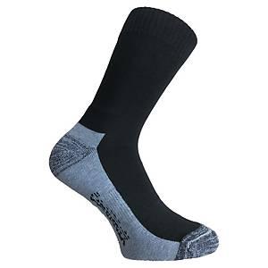 Chaussettes Smeltec Cool hygiène - noir/gris - pointure 43/46 - 10 paires