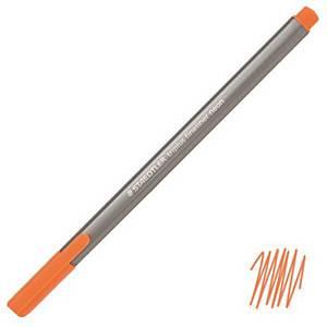 스테들러 STAEDTLER 트리플러스 화인라이너 334-401 0.3mm 형광주황 (10개 구매시 다스구성)