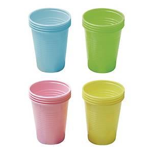 PK100 MUSTAF DISPOSABLE CUPS BLUE