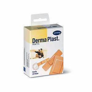 Wundpflaster DermaPlast Family, assortiert, Packung à 32 Stück