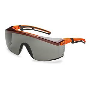 uvex astrospec 2.0 védőszemüveg, füstszínű