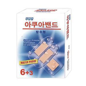 아쿠아 방수 밴드 6+3매