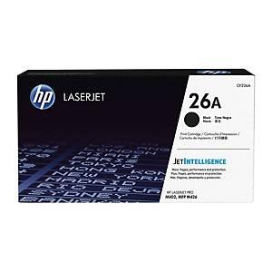 HP toner lézernyomtatókhoz 26A (CF226A), fekete