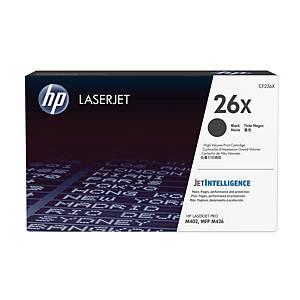 HP 26X (CF226X) toner cartridge, zwart, hoge capaciteit