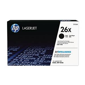 HP 26X High Yield Black Original Laserjet Toner Cartridge (CF226X)