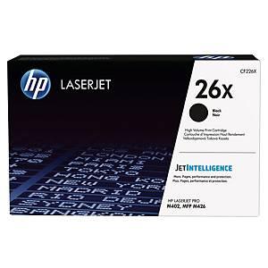 HP 26X CF226X laservärikasetti musta