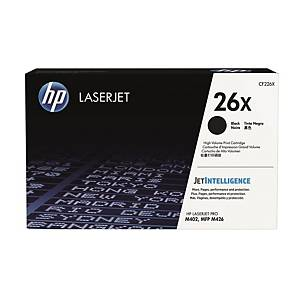 HP CF226X LaserJet Toner Cartridge (26X) - Black