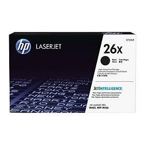 HP toner lézernyomtatókhoz 26X (CF226X) fekete