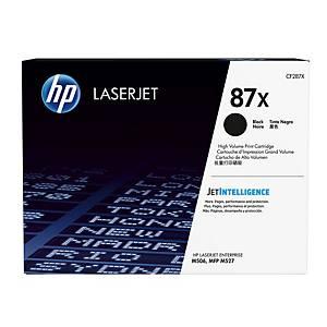 Tóner láser HP 87X - CF287X - negro