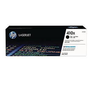 HP 410X (CF410X) toner cartridge, zwart, hoge capaciteit