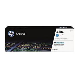 HP CF411A LaserJet Toner Cartridge (410A) - Cyan