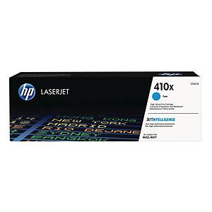 HP 410X High Yield Cyan Original Laserjet Toner Cartridge (CF411X)