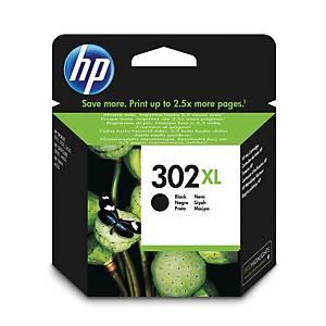 HP inkoustová kazeta 302XL (F6U68AE), černá