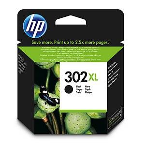 Tinteiro HP 302XL - F6U68AE - preto