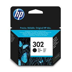 HP inkoustová kazeta 302 (F6U66AE), černá