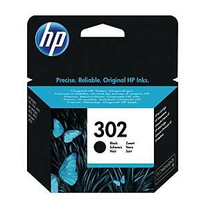 Tintenpatrone HP F6U66AE - 302, Reichweite: 190 Seiten, schwarz