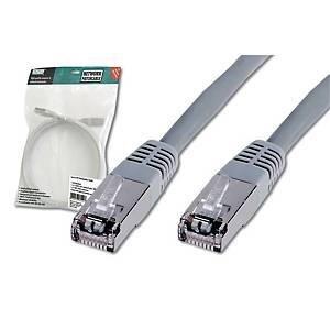 DIGITUS CAT5E SF-UTP RJ45 5M CABLE GRAY