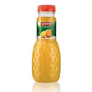 Jus d orange Granini 33 cl, paq. de 24bouteilles