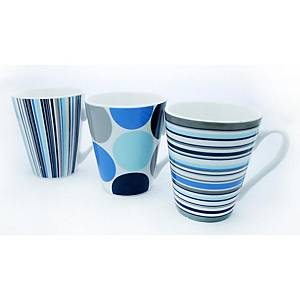 Spots & Stripes CEramic Mug - Pack of 12