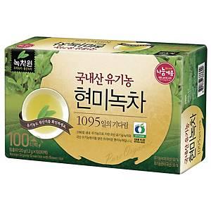 PK100 NOKCHAWON BROWN RICE GREEN TEA1.2G