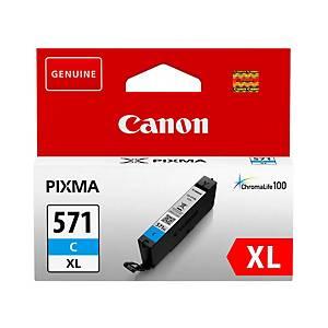 Canon CLI-571XL C cartouche jet d encre bleu high capacity [11 ml]