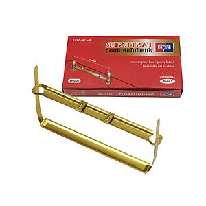 SANKO ลิ้นแฟ้มโลหะ แพ็ค 50 ชุด สีทอง