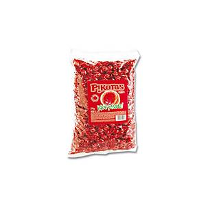 Saco de rebuçados Pikotas - 2 kg - cereja