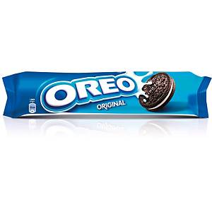 Caixa 16 pacotes de bolachas Oreo - 154 g