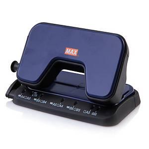 MAX เครื่องเจาะกระดาษ รุ่นDP-15T  สีน้ำเงิน