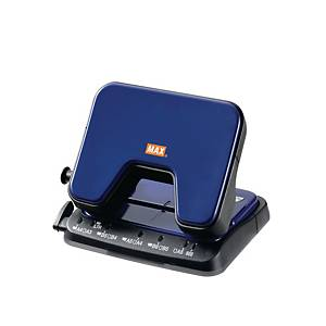 MAX DP-25T 2 Hole Puncher Blue - 20 Sheets Capacity