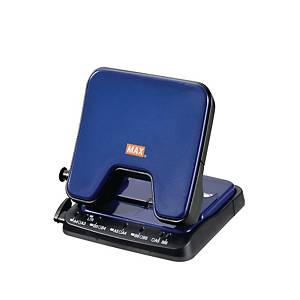 MAX DP-35T  2 Hole Puncher Blue - 28 Sheets Capacity