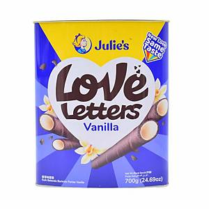 Julie s Love Letters Cocoro Vanilla Biscuits 700g