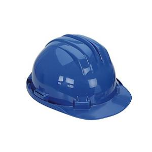CLIMAX 5RS SAFETY HELMET W/BRIDLE BLU