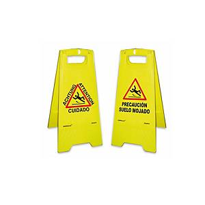 NORMALUZ RD30070 WET FLOOR SIGN 62CM YLW