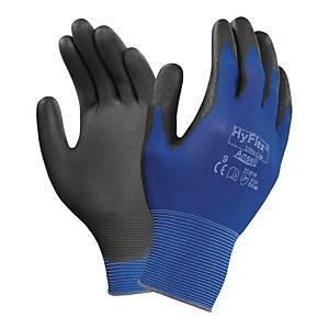 Rękawice Ansell Hyflex® 11-618, Rozmiar 9, niebieskie