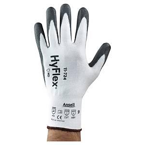Ansell 11-724 Hyflex Glove White & Grey Size 9