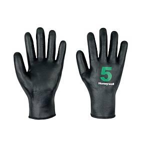 Paar Honeywell DeepTril 5 nitril handschoen zwart - maat 11 - pak van 10 paar