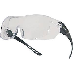 Delta Plus Hekla safety glasses grey - clear lens