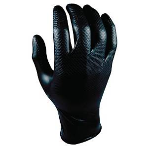 Grippaz 246 gants nitrile noir - taille XXL - boîte de 50 pièces
