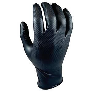 Grippaz 246 Nitril handschoen zwart - maat XXL - doos van 50 stuks