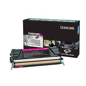 Toner Lexmark C748H3MG, Reichweite 10.000 Seiten, Projekt, magenta