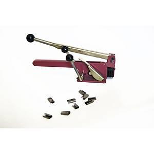 Máquina flejadora manual para fleje de PP de 13 mm