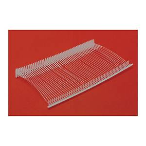 Pack de 5000 precintos para etiquetadora têxtil Apli 101545 - 25mm