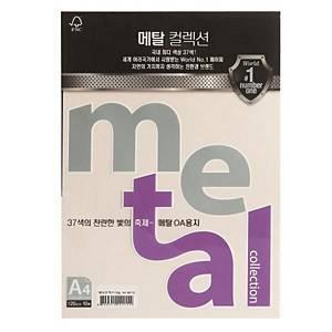 삼원 메탈컬렉션 MP32 120g A4 그레이펄 10매
