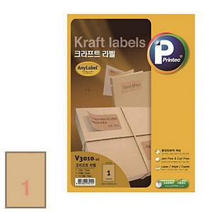 PK10 ANYLABEL V3010 LAB 199X289 BROWN